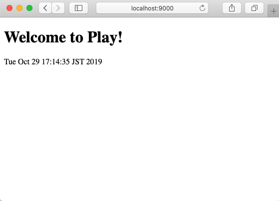 Welcome to Play! and Timestamp