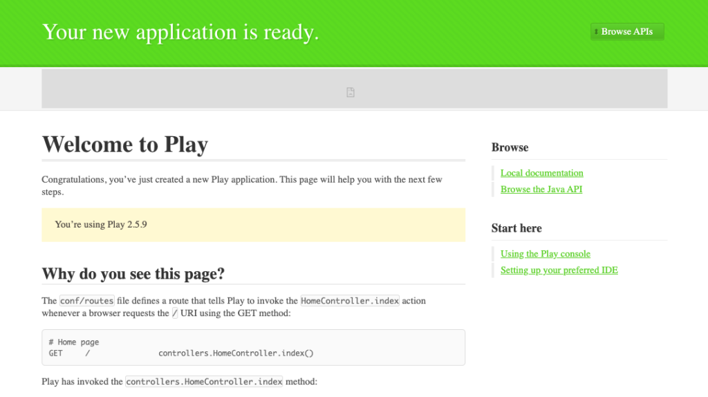 play first view